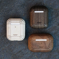 Toast AirPods cases in different woods.