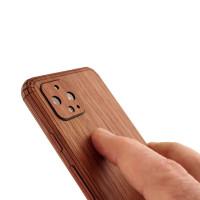 Toast Pixel 4 wood cover in lyptus.