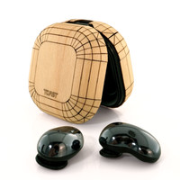 Wood Galaxy Buds / Buds+ / Buds Live case cover