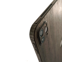 Toast wooden cover for Apple iPad Pro in ebony.