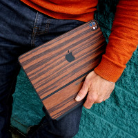Wooden cover for Apple iPad in rosewood.