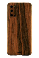 Samsung S20 Toast cover in zebrawood.