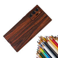Toast cover for Samsung Note20 Ultra in rosewood, detail.