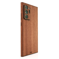 Toast wood cover for Samsung Note20 Ultra in lyptus.