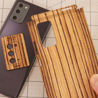 Toast wood Note 20 cover installation.