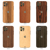 Toast wooden iPhone 12 case in 6 amazing wood choices.