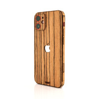 iPhone 12 mini in zebrawood