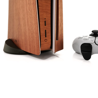 Toast wood cover for Sony Playstation 5 in lyptus.