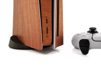 Toast wood cover for Sony Playstation 5 in lyptus