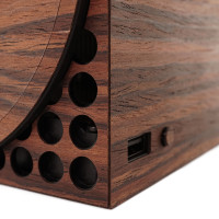 Rosewood wrap detail for Xbox Series X by Toast.