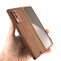 Real wood skin for Samsung Galaxy Fold 2 by Toast.