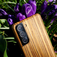 Zebrawood case for Samsung Galaxy S21.