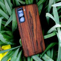 Rosewood Samsung Galaxy S21 Toast cover