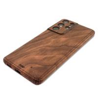 Walnut wood Samsung Galaxy S21 Ultra Toast cover.