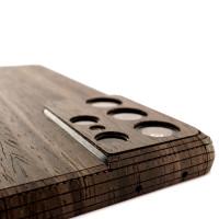 Ebony wood Samsung Galaxy S21 Ultra Toast cover.