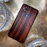 Most popular wood cover for Pixel 5, Toast's rosewood cover.