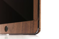 Toast wood iPad Pro 9.7 cover in Walnut, front panel