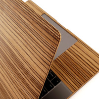 MacBook 16 Touch bar in zebrawood.
