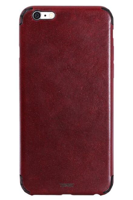 iPhone 6 / 6s / 6 Plus Leather (IPH6-L) Syrah back panel