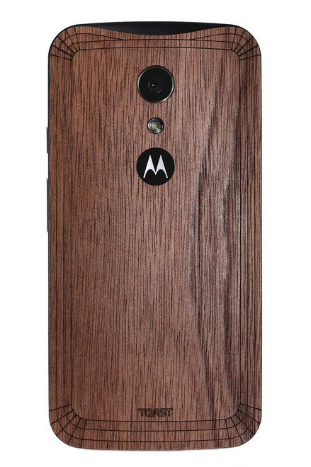 Moto G (2nd Gen) (MOTG2) Walnut back panel