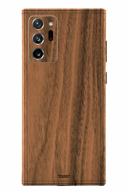 Toast cover for Samsung Galaxy Note20 Ultra in walnut.