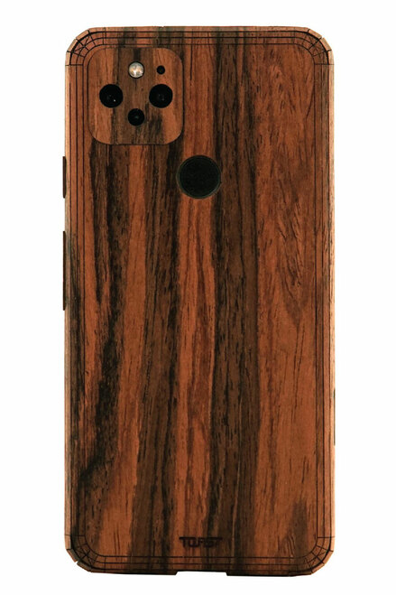 Toast Pixel 5 case in rosewood.