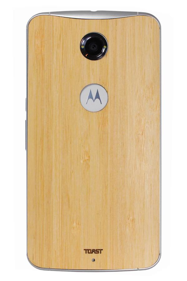 Nexus 6 (NEX6) Bamboo back panel