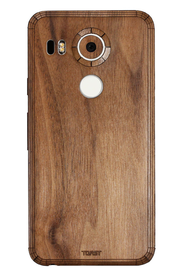 Nexus 5X (NX5X) Walnut back panel