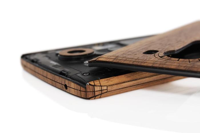 LG V10 wood cover