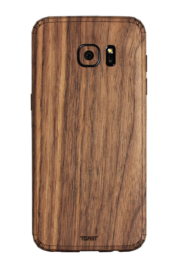 Galaxy S7 / S7 Edge (SGS7) Walnut back panel