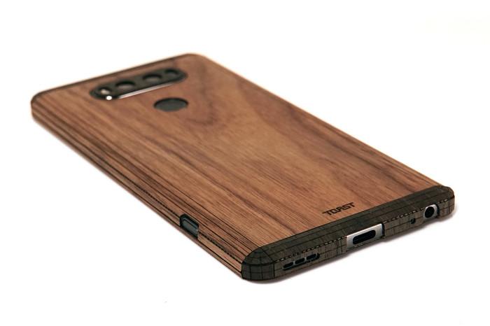 online retailer 87da1 993ba LG V20 wood cover