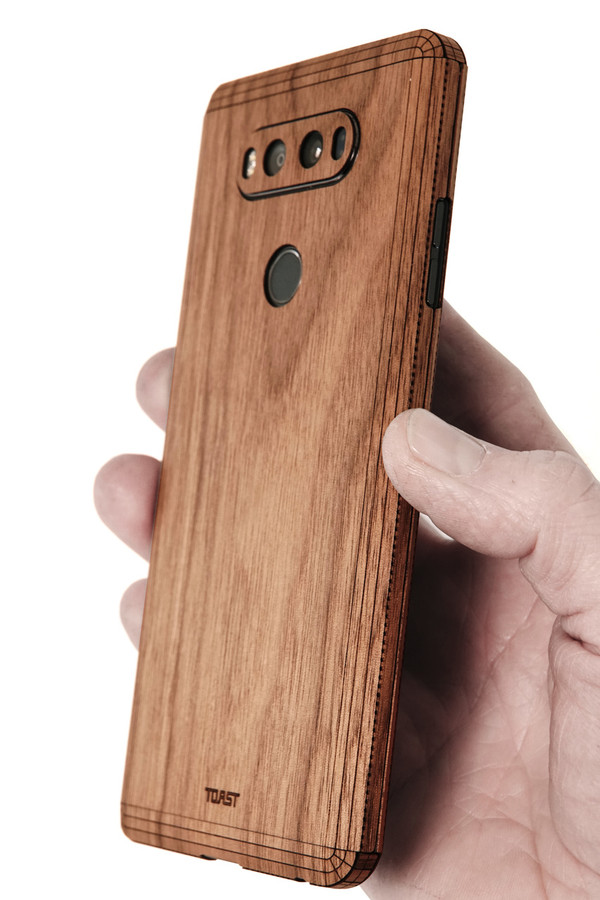 online retailer bbb38 0f6a7 LG V20 wood cover
