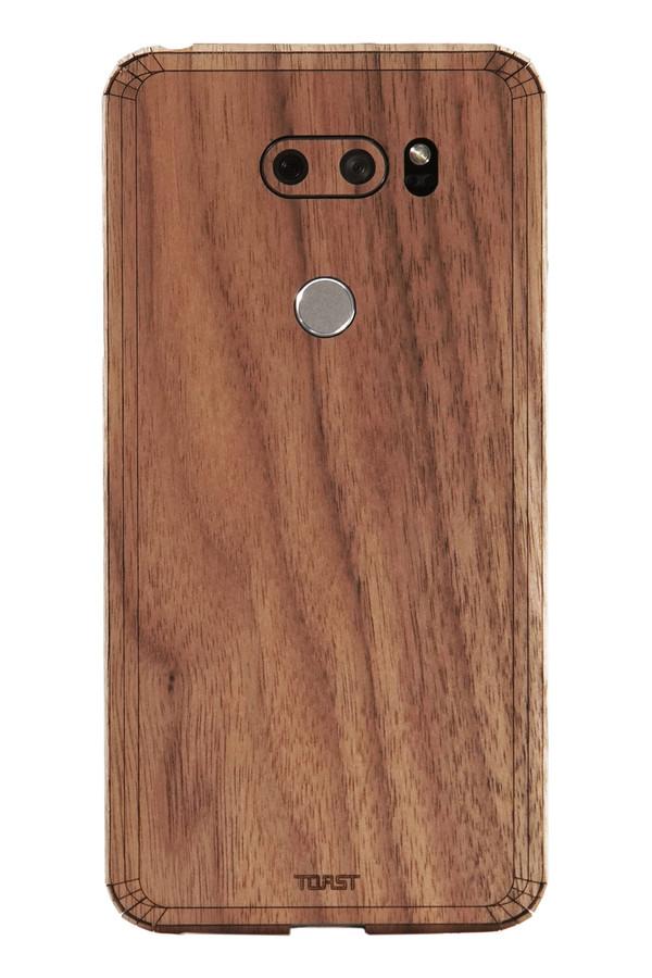 LG V30 / V30+ wood cover