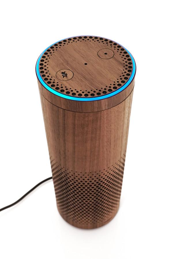 Amazon Echo Echo Plus Echo Dot Wood Covers Toast