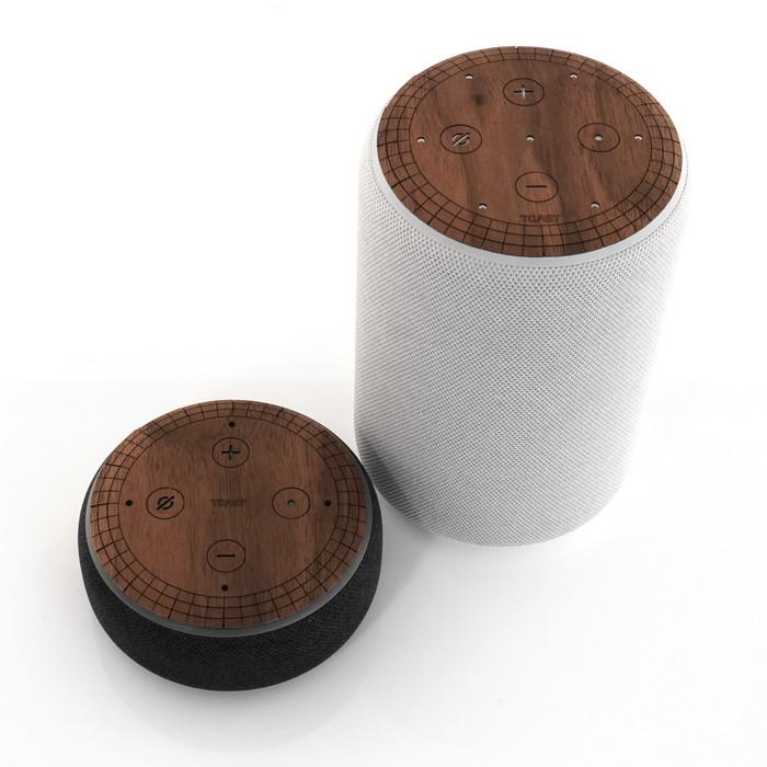 Amazon Echo / Echo Dot wood covers