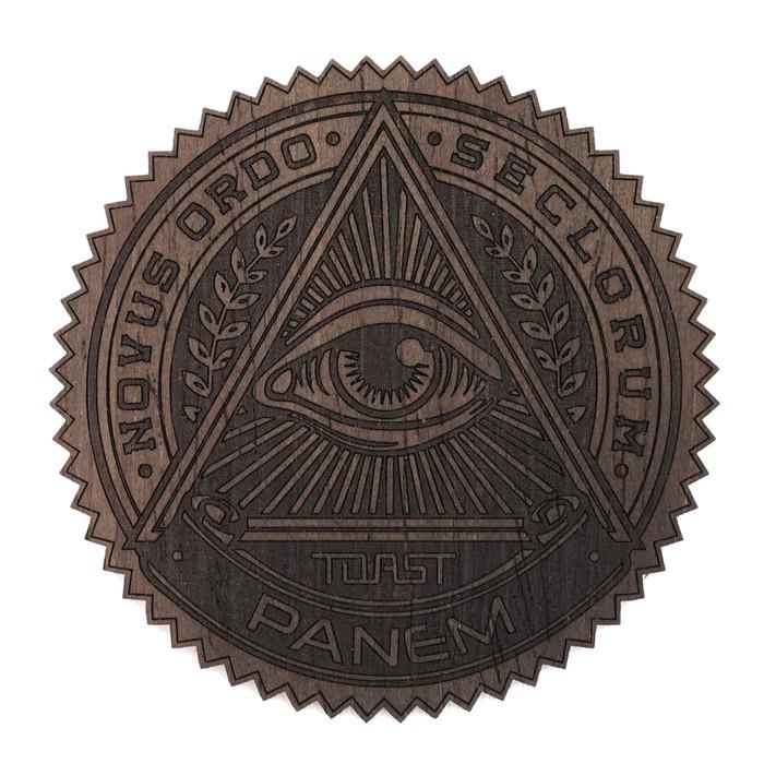 Custom Real Wood Stickers