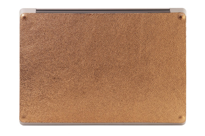 Leather Surface Laptop  Bottom Cover