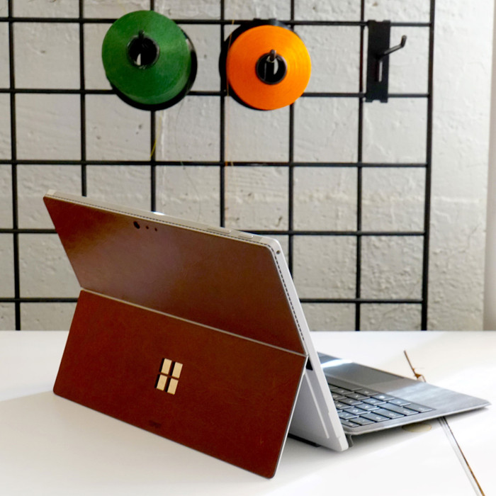 Surface Pro / Go Tablet Leather Cover