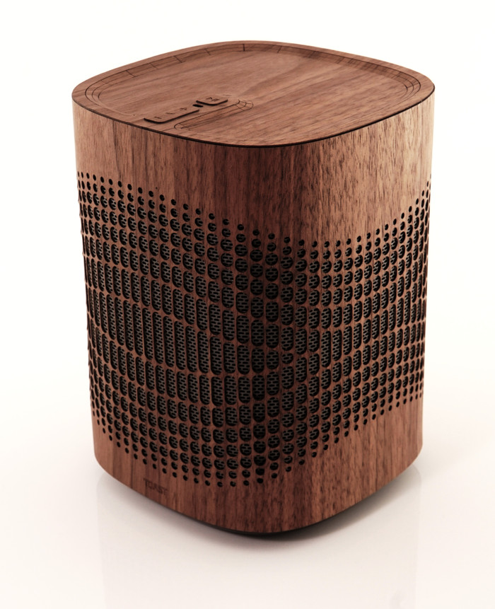 Toast wood cover from Sonos One smart speaker.