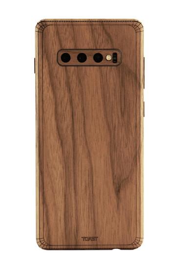 cover samsung s9 legno