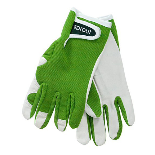 """Ladies Garden Gloves - Olive """"Soft on the Skin"""""""