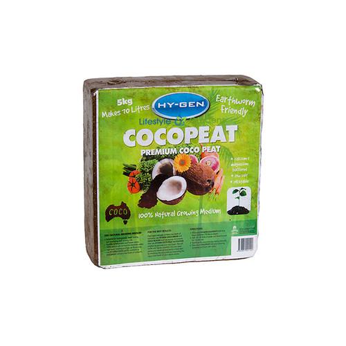 Hygen Compress 5Kg Block Makes up to 70ltrs of Coco Fibre medium