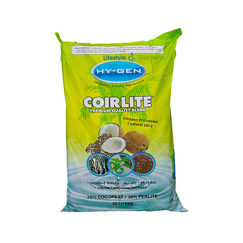 Hygen Coirlite 30% Perlite 70% Coco Fibre