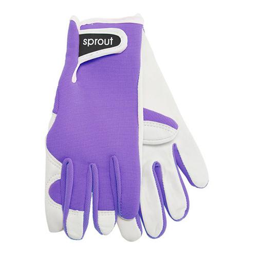 "Ladies Garden Gloves - Jacaranda ""Soft on the Skin"""