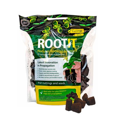 ROOT!T - Rooting Sponges x 50 - Refill Bag