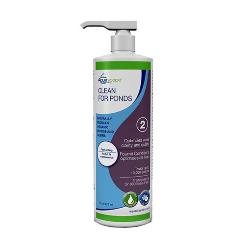 Clean For Ponds – 473 ml
