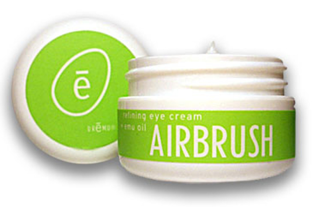 Airbrush - World's Finest Eye Cream, 3 month Supply. Compare to Le Mer Eye Balm @ $200;  Shiseido Solution LX @ $130;  La Prairie Swiss @ $240.   Reduces puffiness right away, especially when applied cold!  Made in USA for over 23 years!