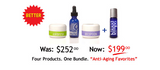 Anti Aging Favorites.   Made in USA for over 21 years!