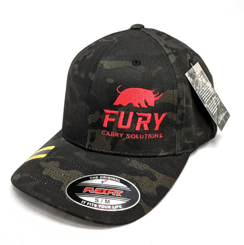Fury Carry Solutions Flexfit hat in Multicam Black