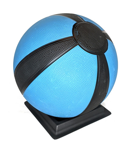 Fitness Ball Stand with 10lb Medicine Ball